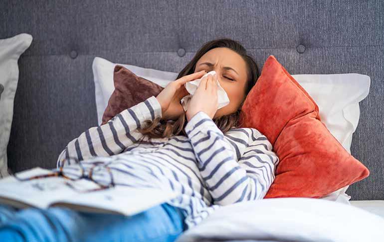 Αλλεργίες της Άνοιξης ή covid-19;